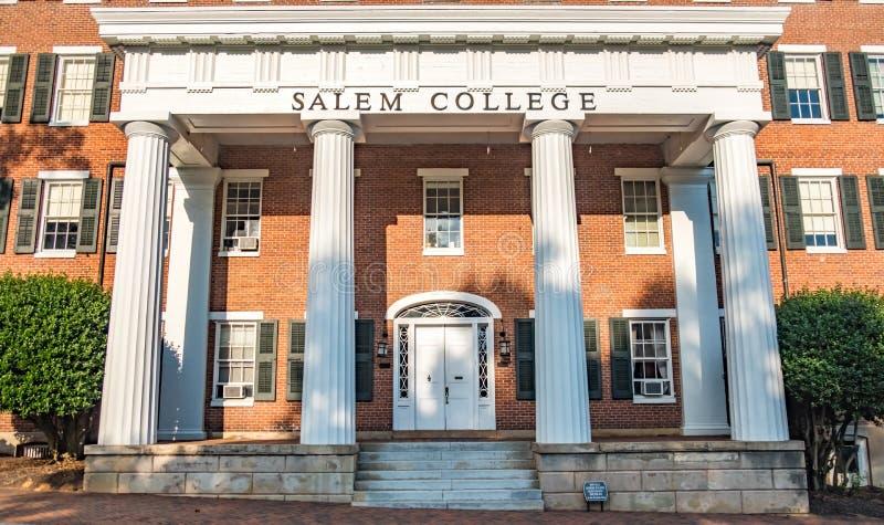 Salem College royalty-vrije stock afbeeldingen