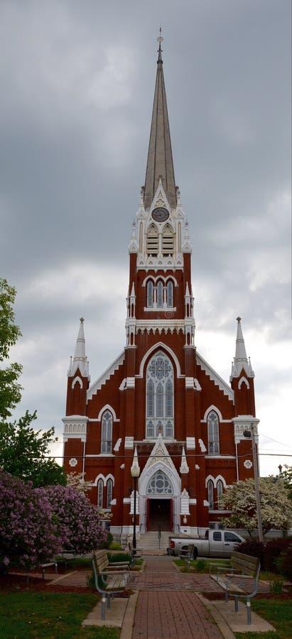 Salem Evangelical Church imagem de stock