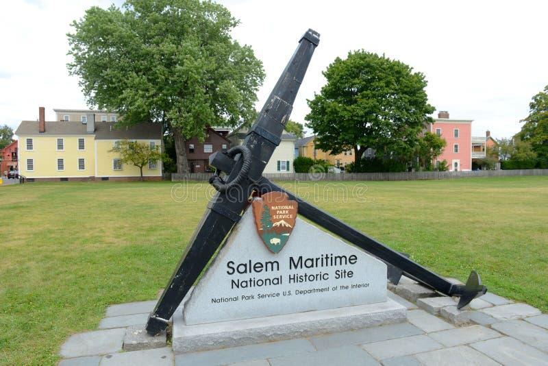 Salem Maritime NHS, Salem, Massachusetts stock photo