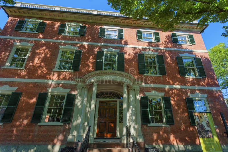 Salem Massachusetts Crowninshield-Bentley House imagem de stock royalty free