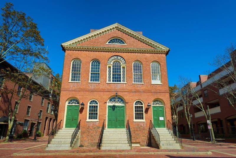Salem Massachusetts Stary urząd miasta zdjęcie stock