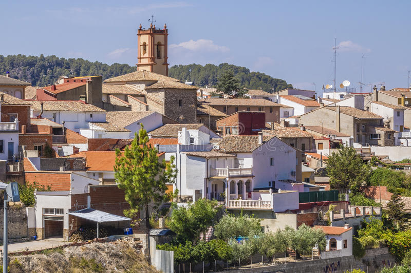 Salem, Spain. Salem is a municipality in the comarca of Vall d'Albaida in the Valencian Community, Spain stock photography
