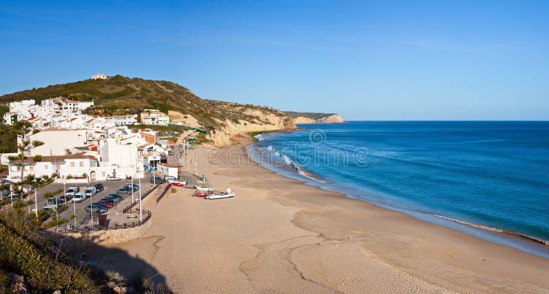 salema пляжа стоковая фотография