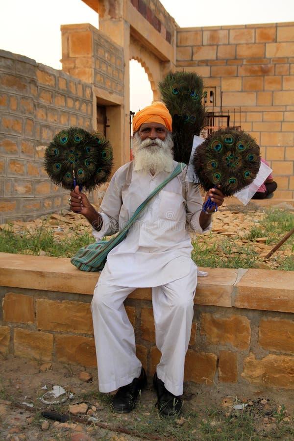 Saleman indiano imagens de stock