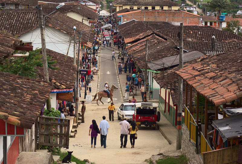 Salento, Colômbia foto de stock
