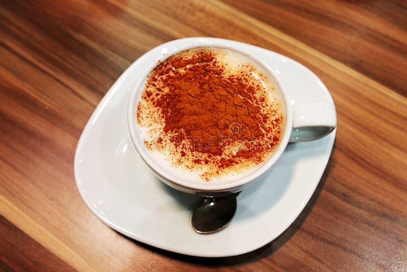 Salep tradicional da bebida do turco imagem de stock