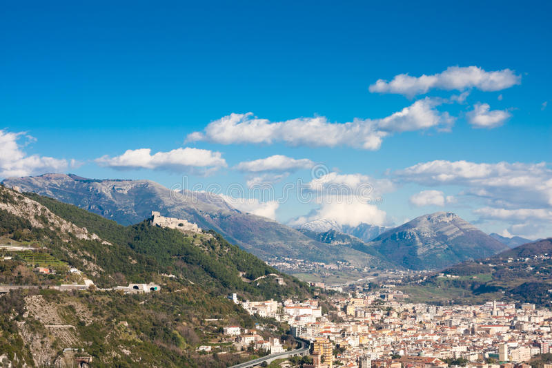 Download Salerno stock image. Image of houses, medieval, city - 13933081