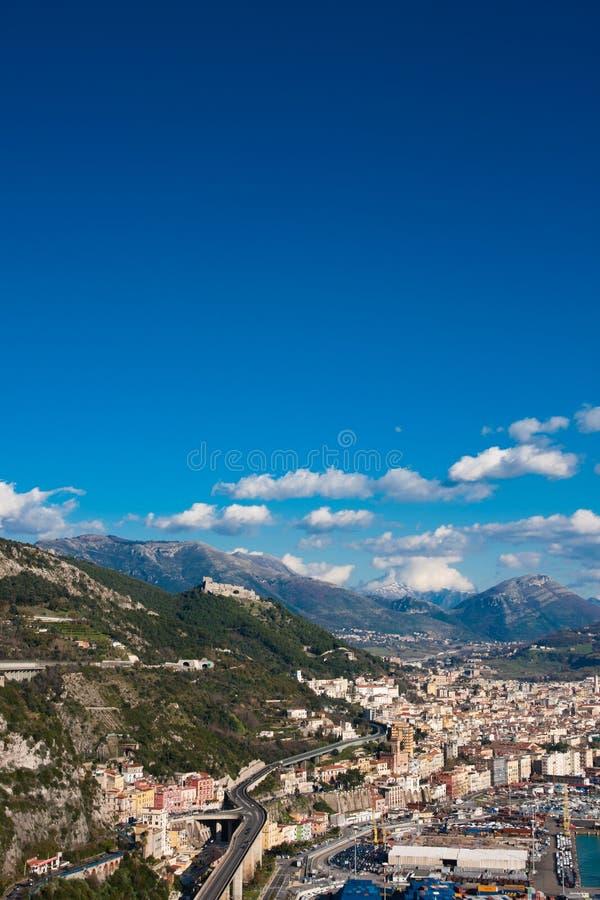 Salerno immagine stock