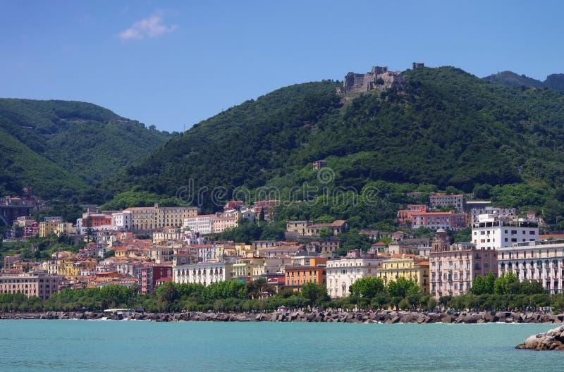 Salerno fotografia stock