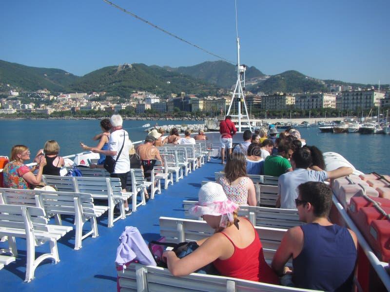 Salerno-Fähre lizenzfreie stockfotos