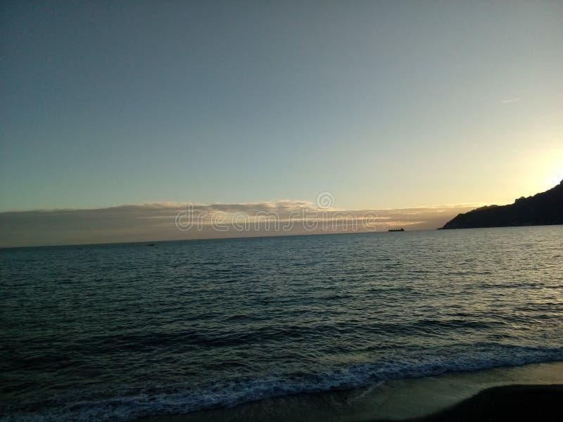 Salerno Italie de mer images stock
