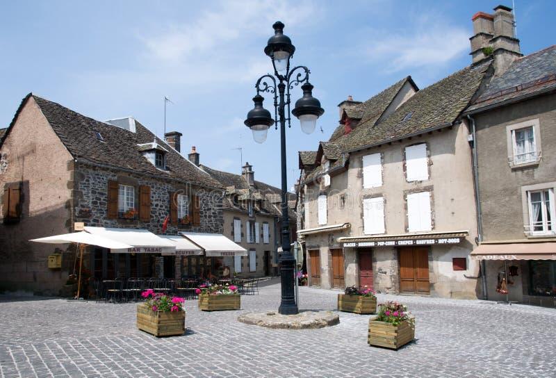 Salers, Γαλλία στοκ εικόνες