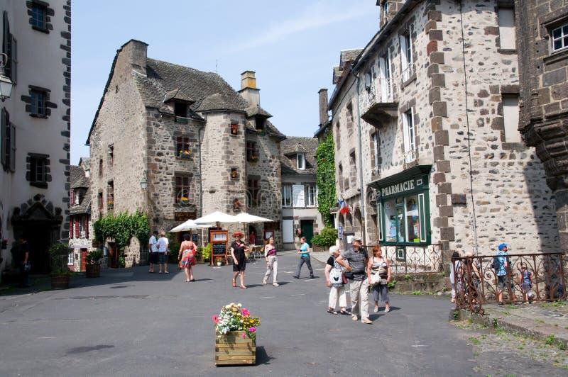 Salers, Francja zdjęcie royalty free