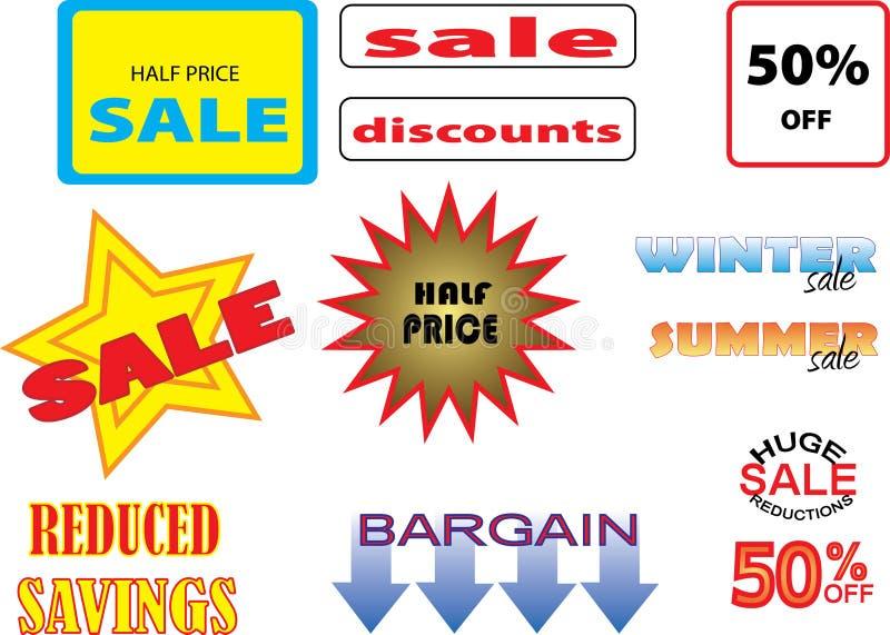 Download Sales stock vector. Illustration of bargain, merchant - 4548786