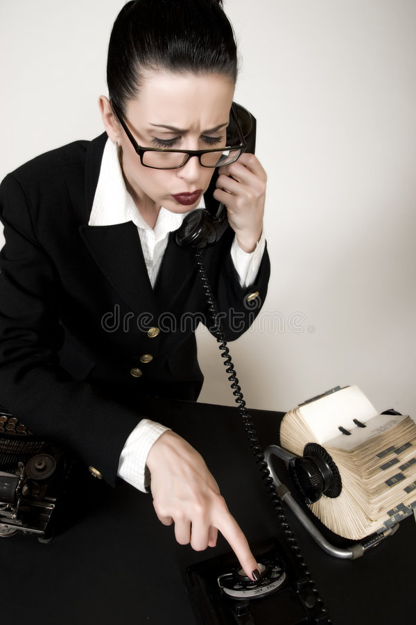 Sales Calls Stock Image