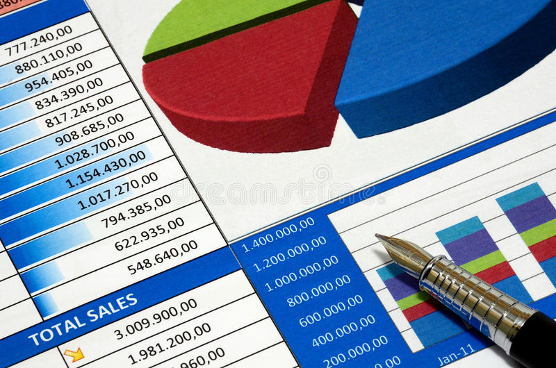 Download Business report stock image. Image of financially, business - 25846691