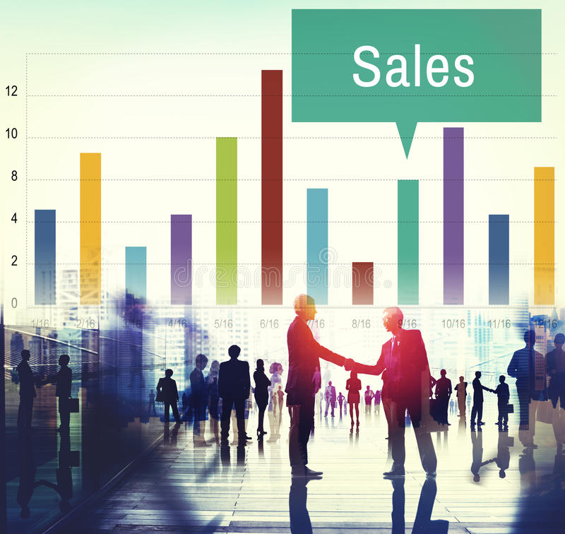 Sales Finance Selling Inventory Data Concept royalty free stock photo