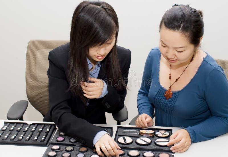 Sales girl2 stock photo