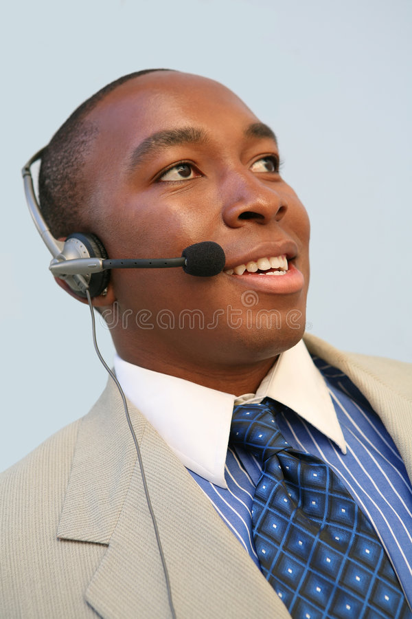 Sales Man royalty free stock photo