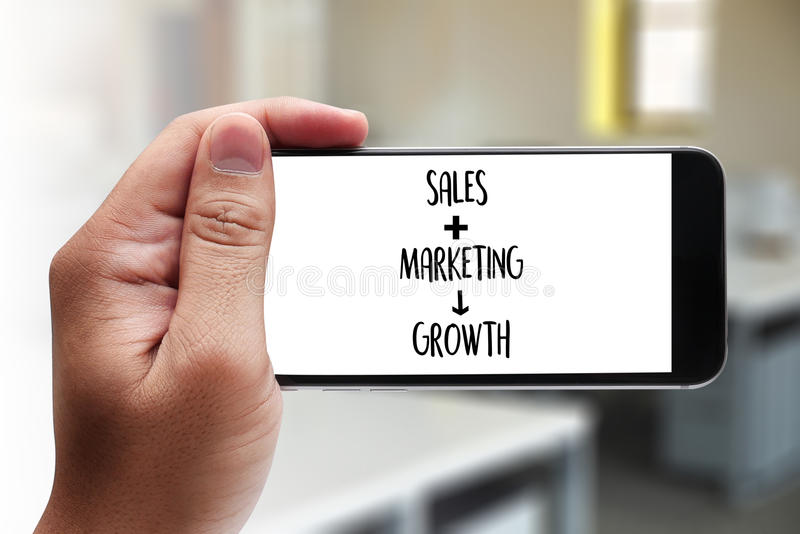 SALES MARKETING CONCECT , Customer Marketing Sales Dashboard Graphics and Business Marketing Team Discussion Corporate royalty free stock image