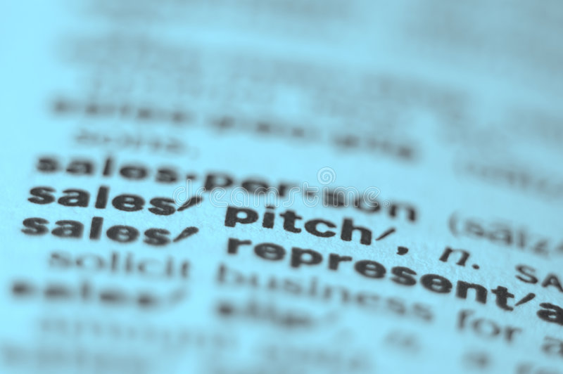 Sales Pitch Stock Images