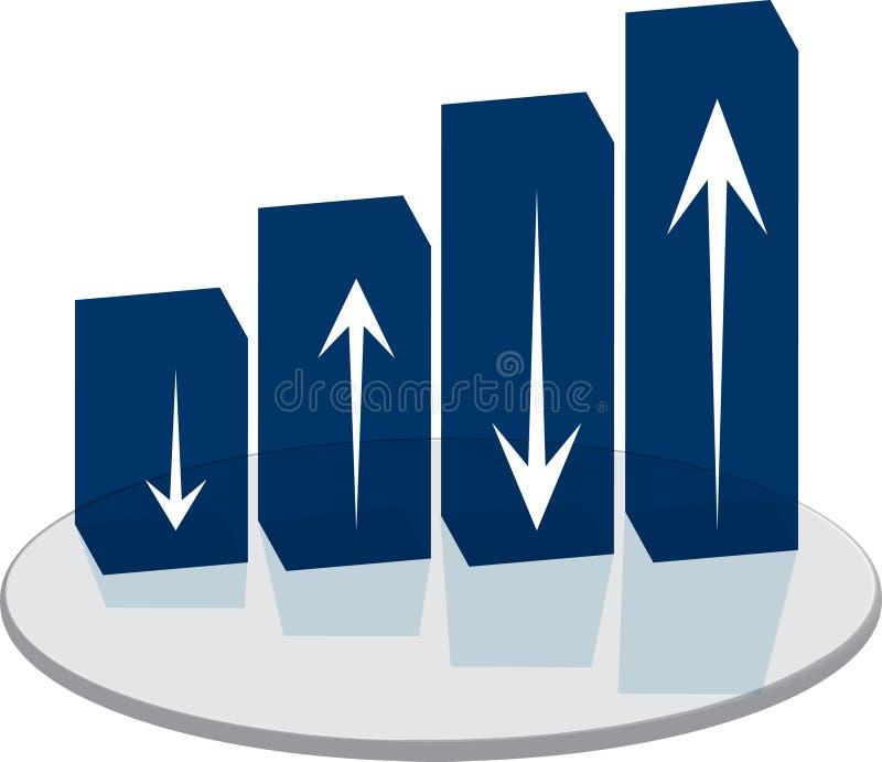 Sales plinth stock illustration