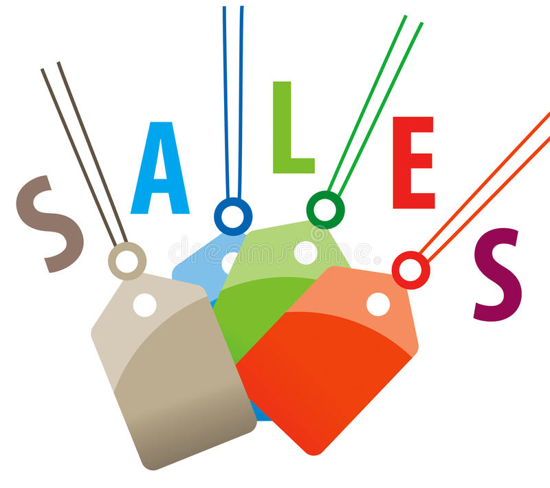 Download Sales tags stock illustration. Image of note, hang, sale - 12286413