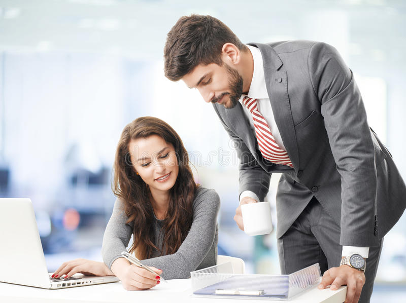 Sales team royalty free stock photography