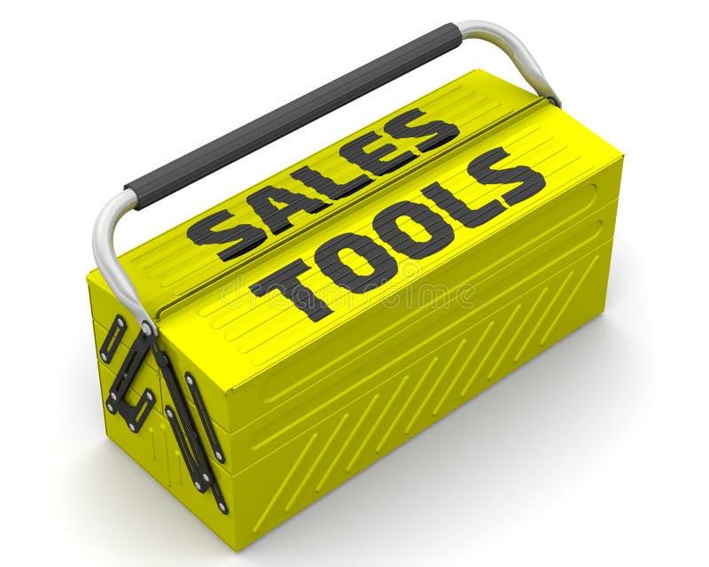 Sales tools royalty free illustration