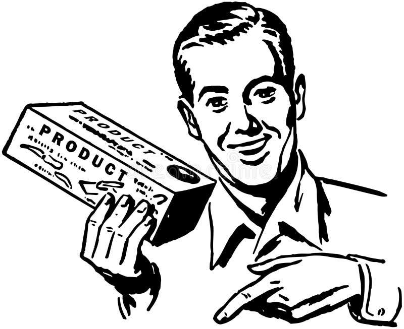 salesman ilustração do vetor