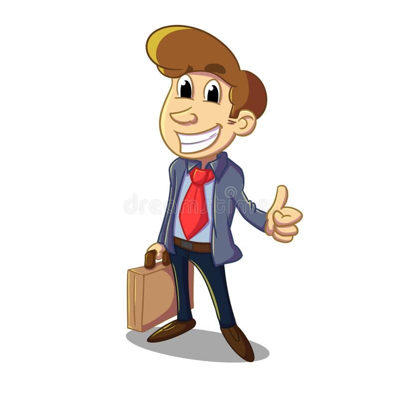 salesman ilustração royalty free