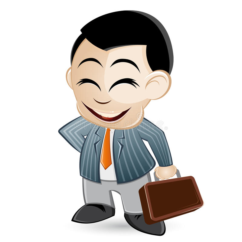 Download Salesman illustration stock vector. Illustration of smile - 20748704