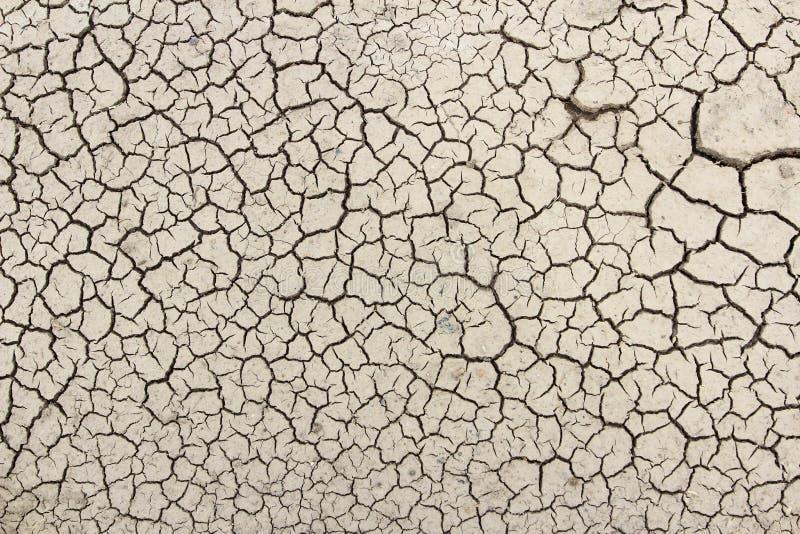 Saleté de fissure la saison sèche photo stock