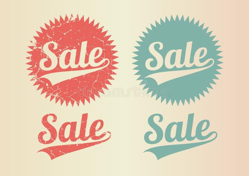 Saletappning stock illustrationer