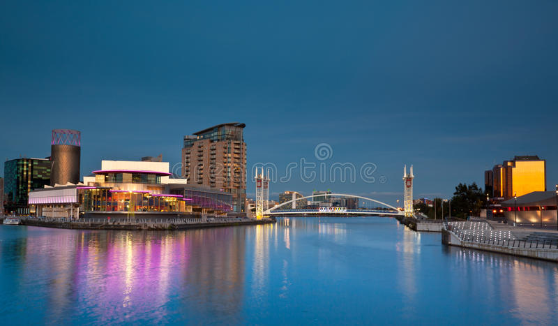 Download Salford Quays stock image. Image of architecture, landmark - 26602731