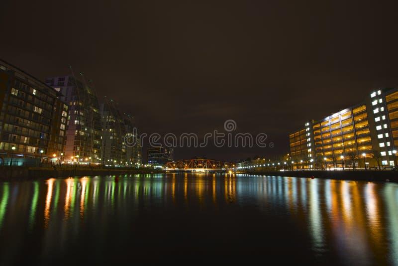 Salfordkaden, Manchester stock afbeelding