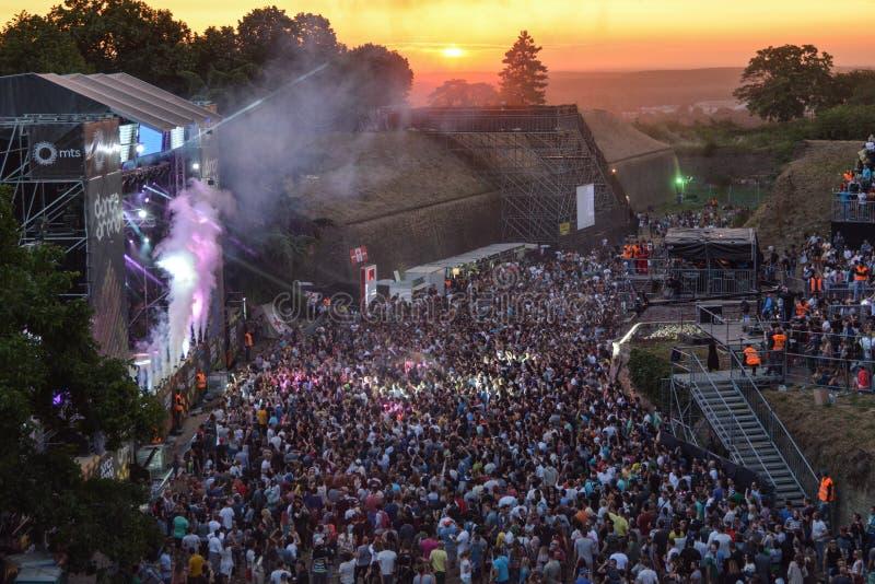SALGA el festival de música 2015 foto de archivo