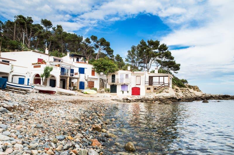 Salguer - Costa Brava fotos de stock royalty free