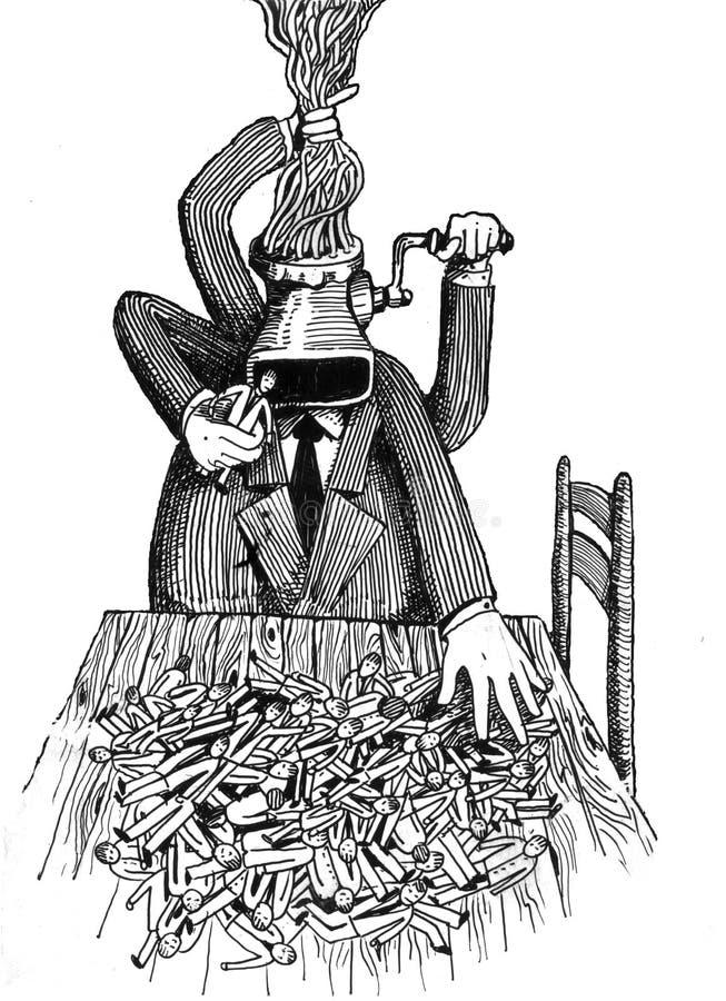 A saliência ilustração do vetor