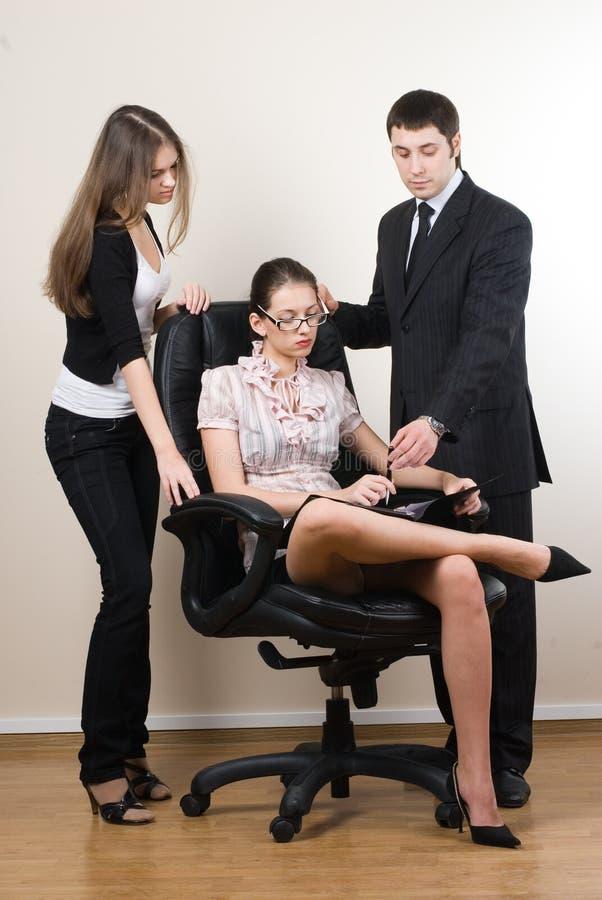 Saliência e empregados fotografia de stock royalty free