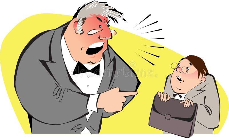 Saliência irritada ilustração do vetor