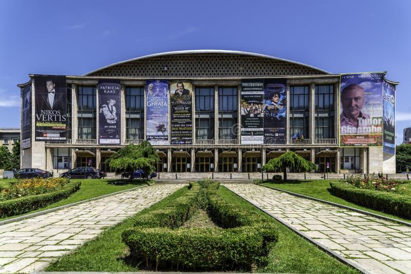 Sali Palatului pałac Hall W Bucharest obrazy stock