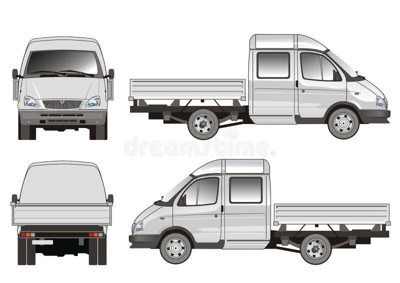 Salida/carro del cargo libre illustration