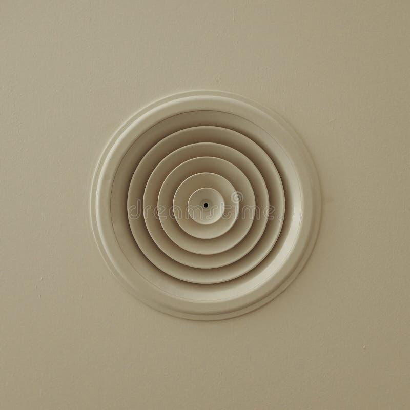 Salida de aire circular imagen de archivo libre de regalías