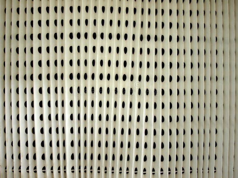 Salida de aire industrial imagen de archivo