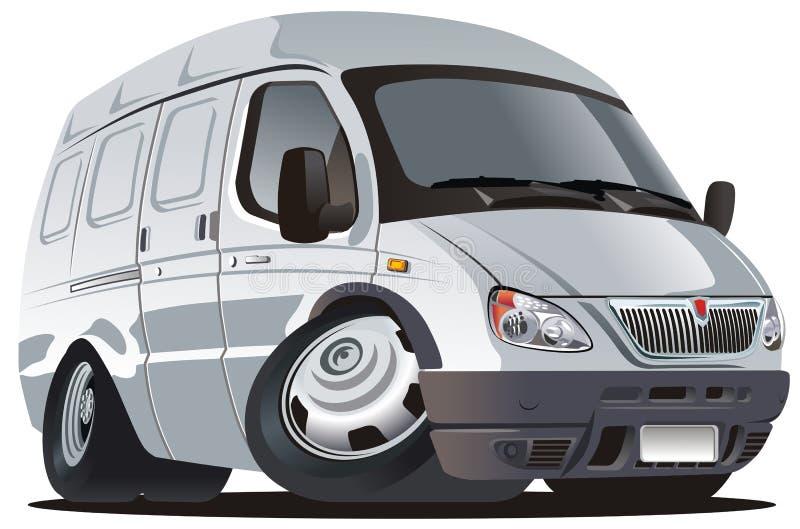Salida de la historieta del vector/carro del cargo ilustración del vector