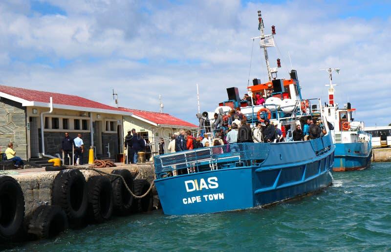 Salida de la isla de Robben fotografía de archivo libre de regalías