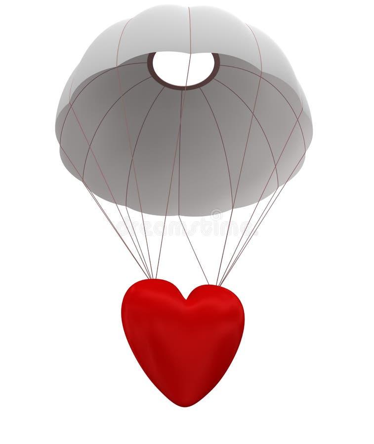 Salida del amor ilustración del vector