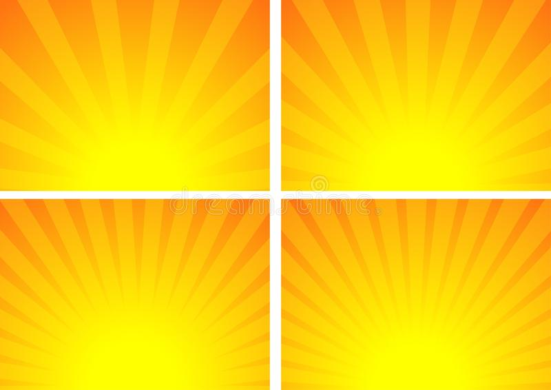 Salida del sol libre illustration