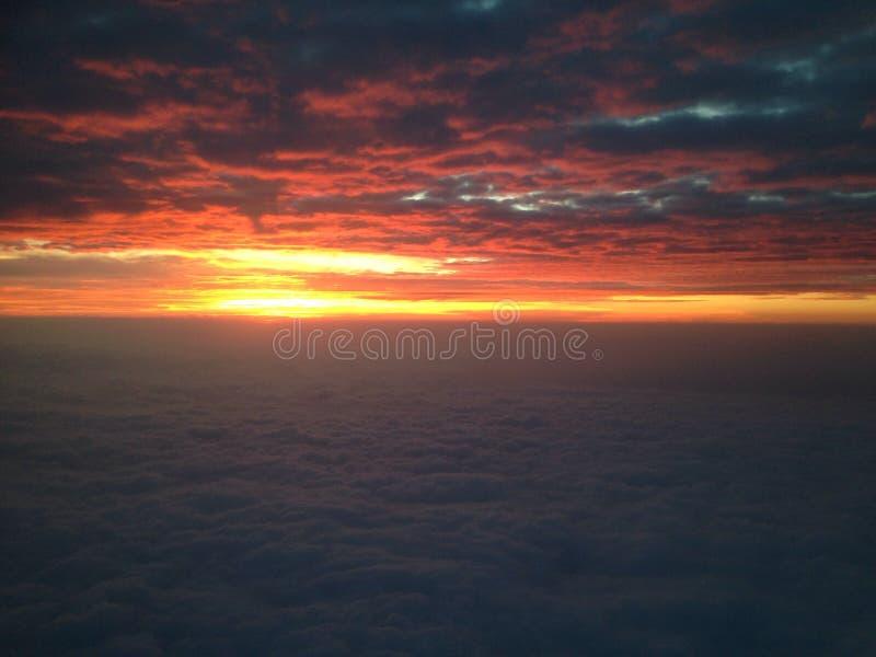 Salida del sol 6 imagenes de archivo